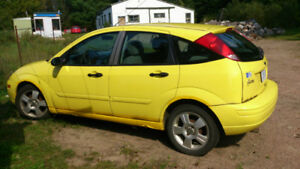 2003 Ford Focus ZX5 Sedan