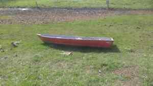 14 ft aluminium boat with motor
