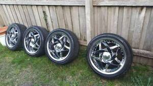 Hypnotic Holden BMW hsv 18 Rims and KUMHO ecsta tyres - brand new Rowville Knox Area Preview