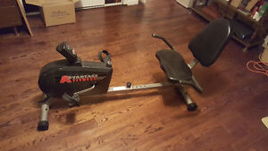 ADVANTAGE FITNESS RECUMBENT EXERCISE BIKE