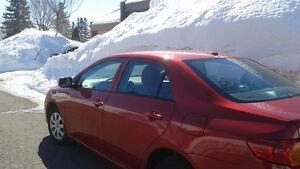 2010 Toyota Corolla ce  Impeccable