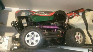 Nitro powered HPI Savage 4x4 truck