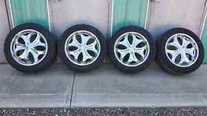 """20"""" tires and rims"""