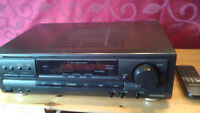 TECHNICS HOME AM/FM/AMP. RECEIVER ( TONS OF CRISP POWER )