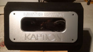 "KAPTION Enclosure 2 x 12"" Subwoofers 2000Watts- LIMITED EDITION"