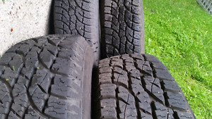 Wild Country Radial tires