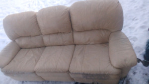 Free learher couch