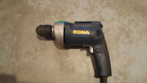 Rona 3/8 inch electric drill $10