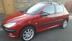 Peugeot 206, good condition, goes well, lots of extras