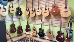Acoustic / Electric Guitars & Basses Clearance Sale