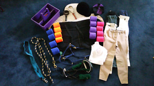 Equestrian Riding Equipment, accessories, horseback