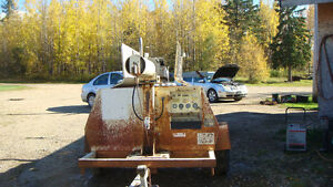 8 kilowatt generator,Brand new engine and generator,135.7 hours Edmonton Edmonton Area image 2