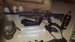Full Paintball gear set - Includes ghillie suit for woodsball