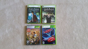 XBOX 360 games starting at $15.00 each