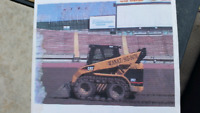 Skid steers and tandem trucks for hire