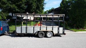 Tamdem axl trailer