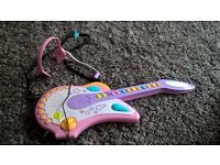Musical electric guitar children toys