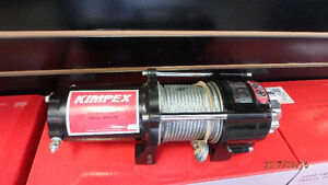 Kimpex 2500lb ATV Winch Kit