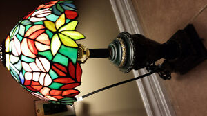 nice's  small tiffany table lamp