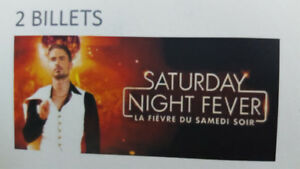 2 Billets pour le spectacle Saturday Night Fever