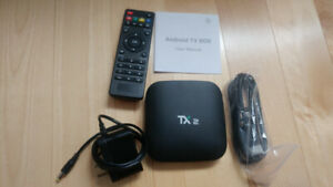 Android Smart TV Box de marque TX2 R2