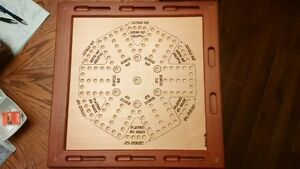 Aggravation,Game Board
