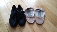 Girls tap and ballet shoes (Dance shoes)