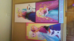 Anna and Elsa canvas Windsor Region Ontario image 1