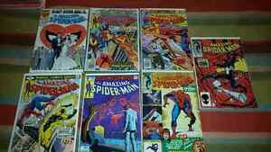 AMAZING SPIDER MAN COMICS AND OTHER COMICS