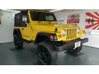 Jeep Wrangler 4.0 manual lifted yellow jap import rust free 2001 in stock