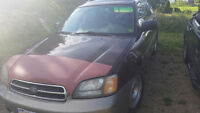 2001 Subaru outback for parts