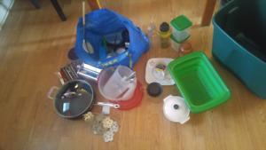 Assortment of kitchen stuff