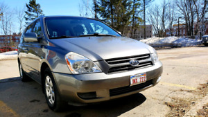 Kia 2010 Kia Sedona van in good used condition. It also has a re