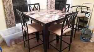 High Top Dining Set Kingston Kingston Area image 1