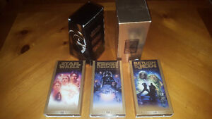 Star Wars - VHS 3-Pack for the Collector!!!