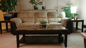 Couch, Coffee Table and End Tables