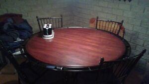 table de poker +chaises