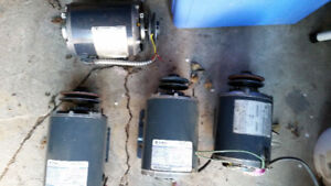 4 Emerson & GE electric furnace motors 1/3 1/2 hp