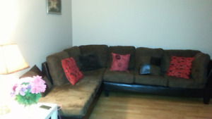 Sectional couch good condition