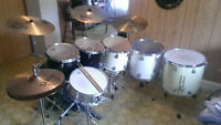 Complete Drum Set with extras