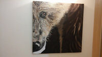 Bear painting for sale by artist