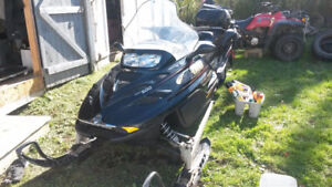 barely used snowmobile 2000 firm