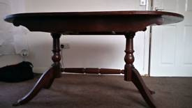 Dining table w/extension