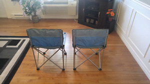 2 brand new camping chairs