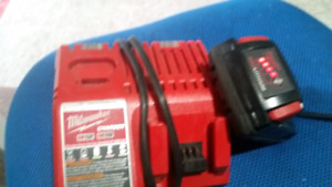 Milwaukee 18 volt battery and charger