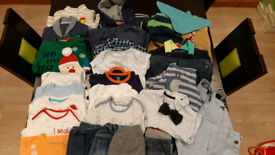 Bundle of 9-12mths boys clothing