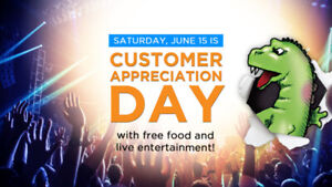 Long & McQuade Kingston - CUSTOMER APPRECIATION DAY!
