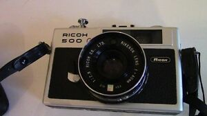 Ricoh 500 G Vintage Camera, with Case Kitchener / Waterloo Kitchener Area image 2
