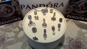 PANDORA COLLECTION: BRACELETS and CHARMS