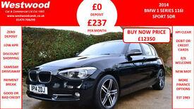 BMW 116 1.6 ( 136bhp ) ( s/s ) Sports Hatch 2014MY i Sport
